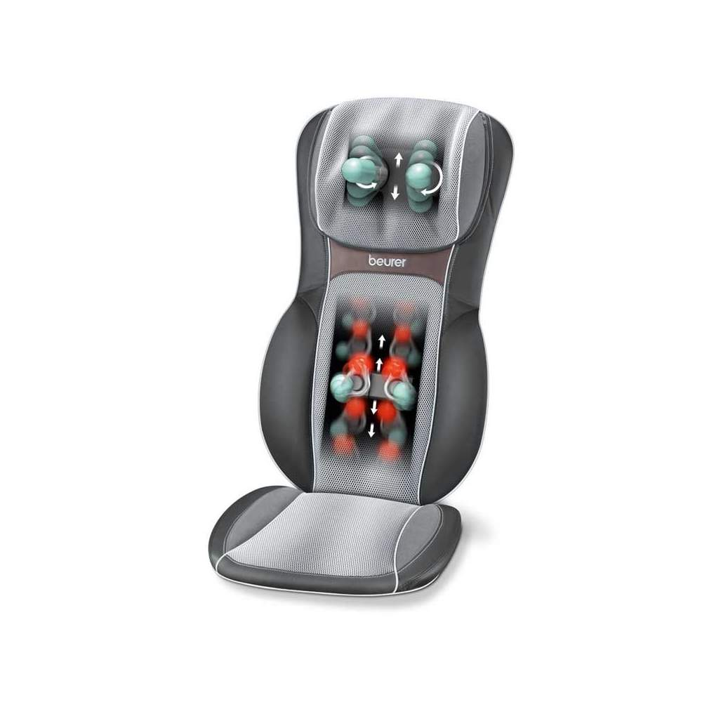 Shiatsu massage seat -  Shiatsu massage seat  3D profound effect for back massage  Localized and partial massage  Nice massage roller