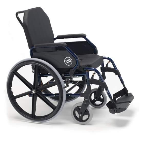 Breezy 3018A cadeira de rodas - Breezy 3018A cadeira de rodas  Reclinação do encosto e rodas de 125 milímetros Cadeira de rodas Breezy Início