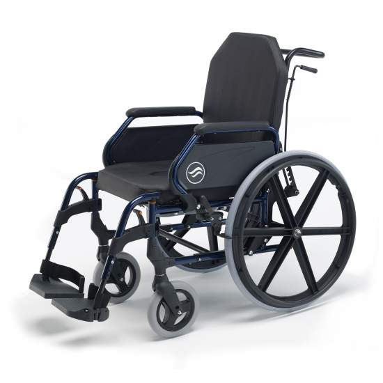Breezy wheelchair 3003A - Breezy wheelchair 3003A  Backup Standard and large rear wheels