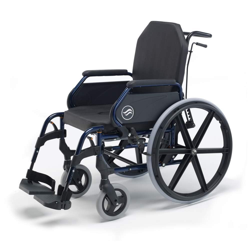 Breezy 3003A cadeira de rodas - Breezy 3003A cadeira de rodas  Backup padrão e grandes rodas traseiras Cadeira de rodas Breezy Início