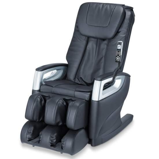 Poltrona massaggiante Deluxe a casa -  Funzione di scansione automatica del corpo  Massaggio completo con sistema di massaggio regolabili individualmente 4 mandrini  È possibile impostare il programma di massaggio individuale