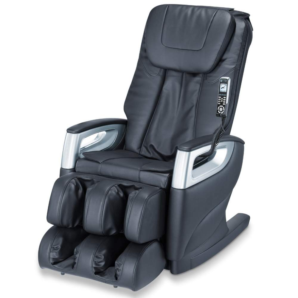 Deluxe massage chair at home -  Automatic scanning function of the body  Full body massage with individually adjustable massage system 4 spindles  You can set the massage program individually