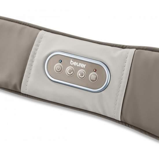 Massageador múltipla com calor -  Massagem Shiatsu Belt  Aplicação versátil e localizada  Boa massagem Shiatsu  Utilização específica para os ombros e pescoço para duro para chegar a