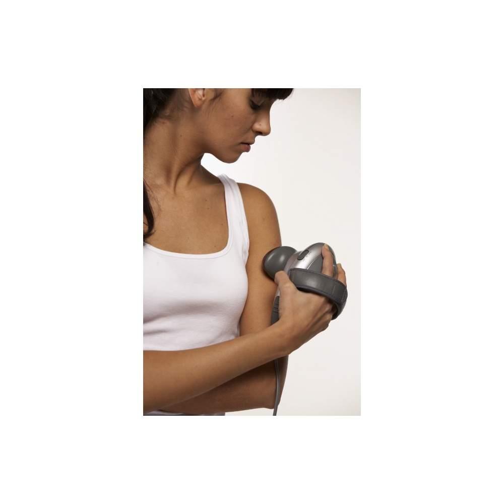Dispositivo de massagem de infravermelhos e tocando