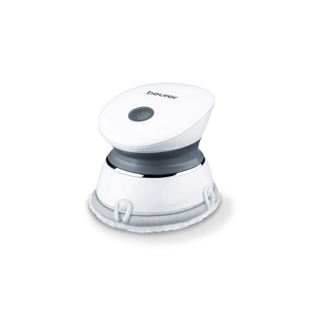 Miniaparato de masaje spa - Miniaparato de masaje  Aparato de peeling y masaje impermeable Con cabezal exfoliante: 1 lado con lufa, 1 lado de suave algodón Ideal para la espalda, el cuello, los brazos...