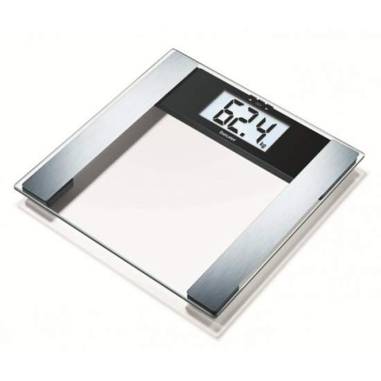 Pèse-personne impédancemètre en verre BG 17