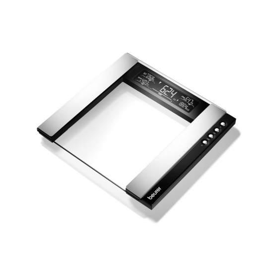 Básculas diagnósticas de vidrio BG 55 - Básculas diagnósticas de vidrio  Diseño de alta calidad Todo de un vistazo Con indicador de interpretación y tendencias