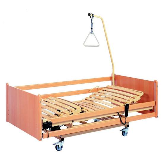 Electronic pallet truck bed with Orion -  Articulated bed Orion