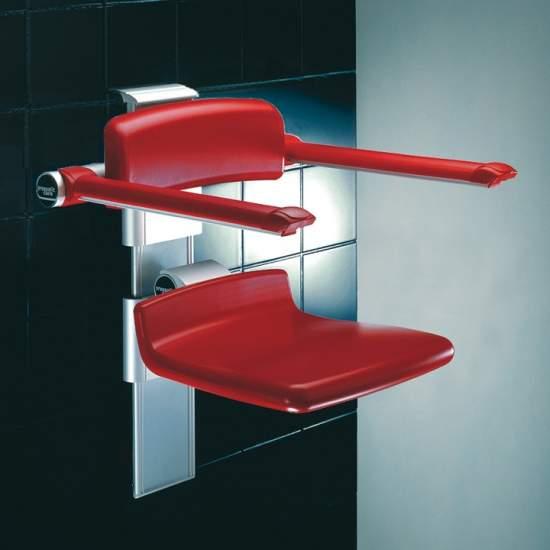 Asiento abatible regulable para el baño - Asiento abatible regulable para el baño