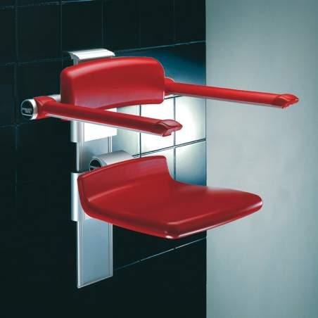siège rabattable réglable pour salle de bain