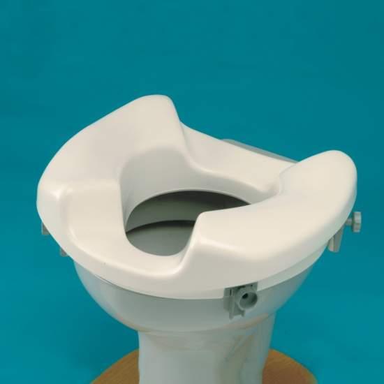 Rialzo Sedia Bath facile accesso - Una sede ideale per chi ha difficoltà a pulire gabinetti booster. Rialzo Sedia Bath facile accesso