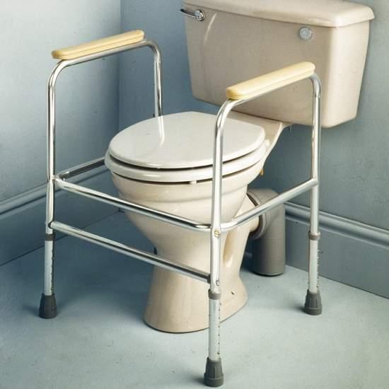 Alluminio ausiliario bracciolo wc -  Bracciolo in alluminio ausiliario