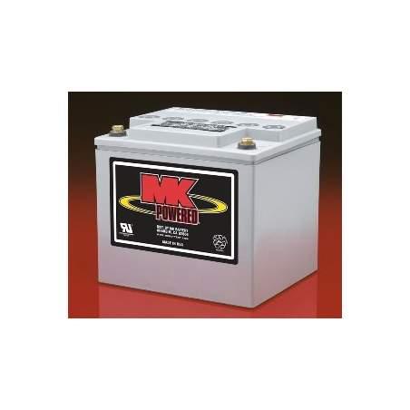 40 Amph batteries gel - MK Powered M40-12 SLD G