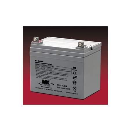 Les batteries AGM 35 Amph - MK Powered SLD MU-1 M