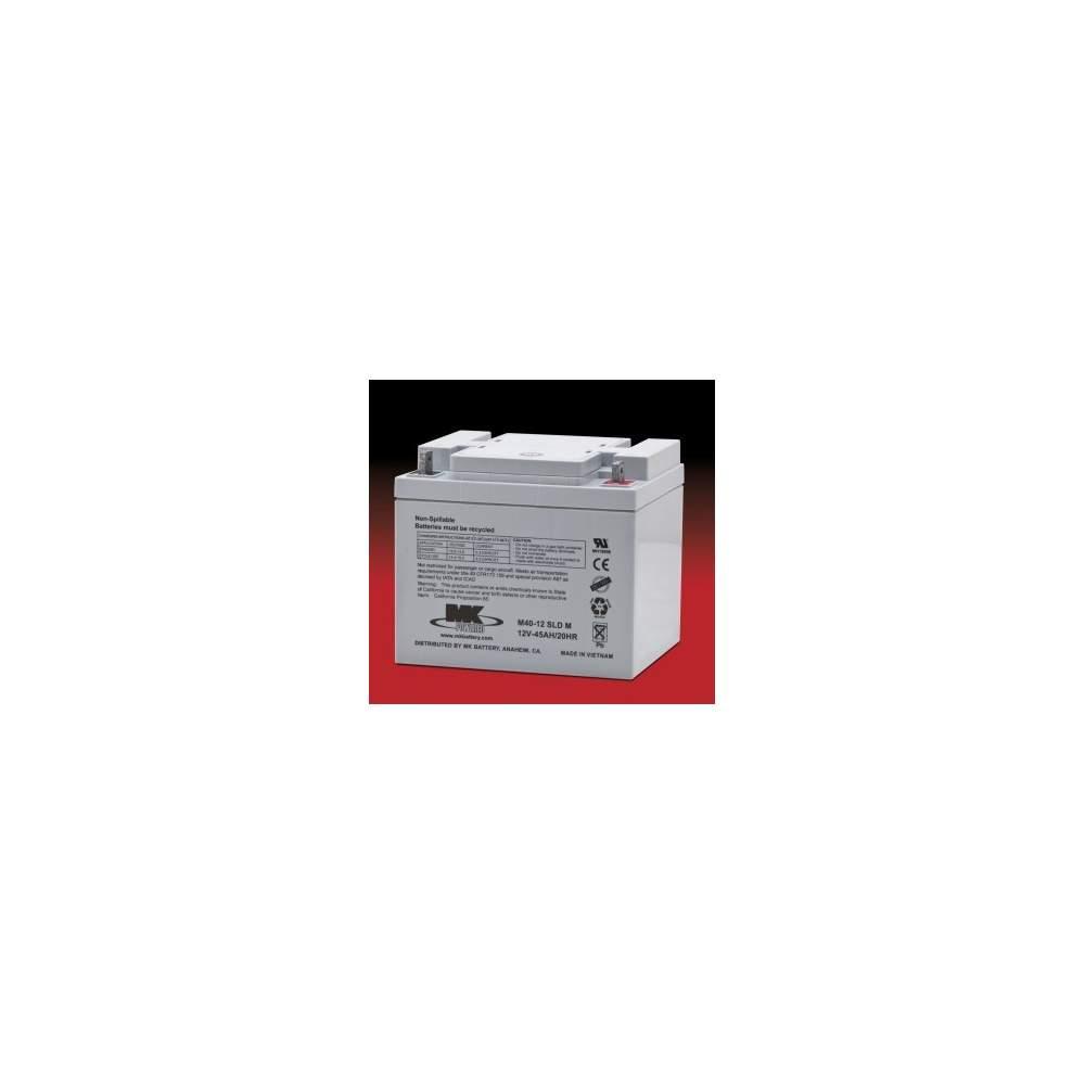 40 batteries Amph AGM (par) - MK Powered M40-12 SLD M