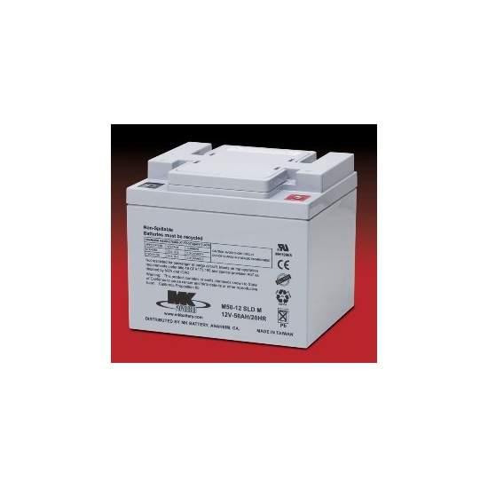 Batterien AGM 50 Amph - MK Powered M50-12 SLD M