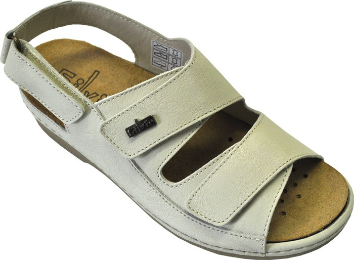 Corrente da Donna Sandali Scarpe sandali 1484 BLU CHIARO 41