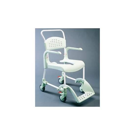 Silla de Ducha y WC Clean - CLEAN es lo último en diseño de sillas para la higiene. Cómoda, segura y fácil de usar. Cada detalle de la silla ha estado pensado para que cualquier situación sea de lo mas fácil para el usuario y para el cuidador.