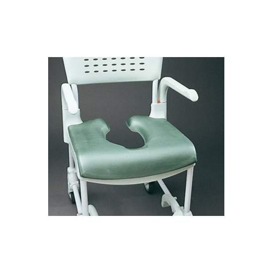 Zachte zitting voor schone stoel