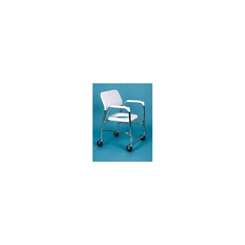 CHUVEIRO cadeira de alumínio E WC - Feito de alumínio, é a solução econômica para a higiene e WC e remoçõesDesativada.