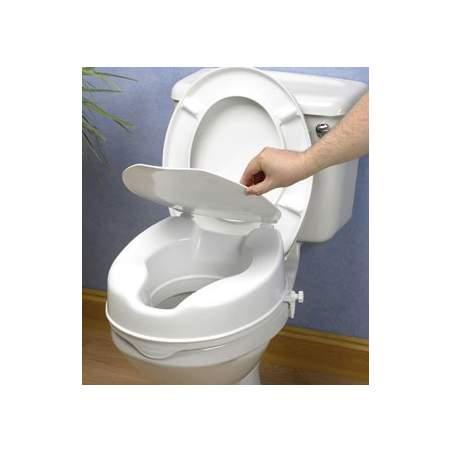 ELEVADOR DE WC. (10 cm) CON TAPA