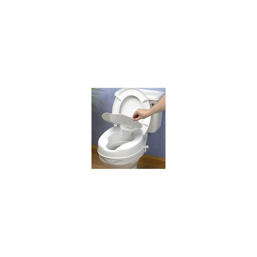 WC ascensore 15 centimetri con il coperchio -  Wc Elvador 15 cm con tappo di sollevamento economica, ma sicuro ed efficace è completamente in plastica sigillata che resiste odori e macchie.