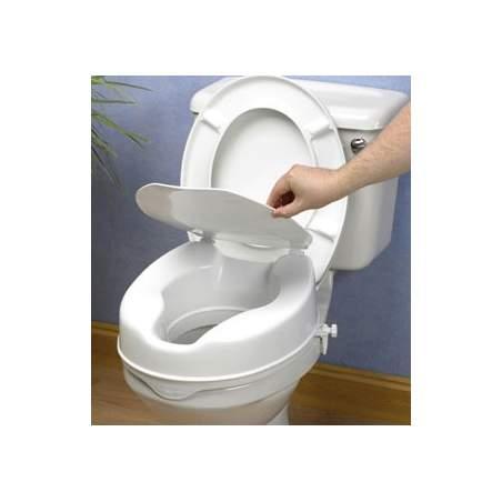 ELEVADOR DE WC (15 cm) CON TAPA