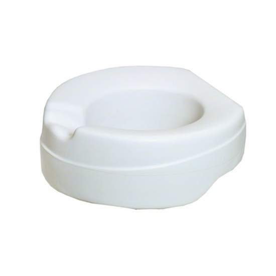 Elevador de WC Blando Soft - Proporciona un confort excepcional y una higiene garantizada gracias a la espuma inyectada debajo de una capa de PVC . Altura de elevación 11 cm. Peso máximo que soporta 100 Kg.