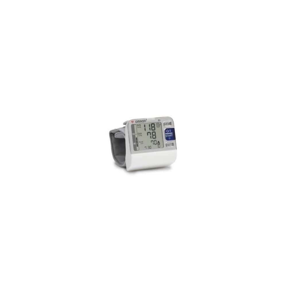Tensiometro Digital de Muñeca R6 - Sensor de Posición con indicador luminoso para postura correcta de la muñeca.