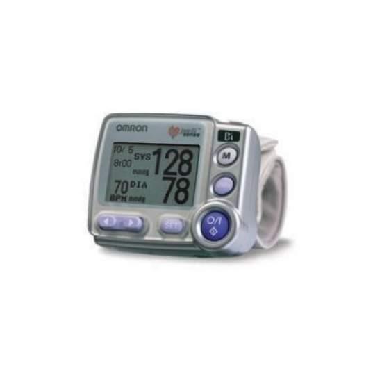 R7 POLSO DIGITALE PRESSIONE - Digital Monitor di pressione sanguigna da polso automatico con sensore di posizione del polso proprio a livello del cuore e la capacità di trasferire i dati al PC.