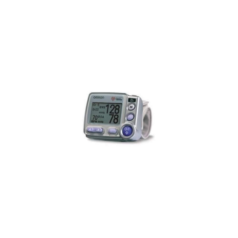 Tensiometro Digital de Muñeca R7 - Monitor de presión arterial digital automático de muñeca con Sensor de Posición correcta de la muñeca a la altura del corazón y posibilidad de transferencia de datos al PC.