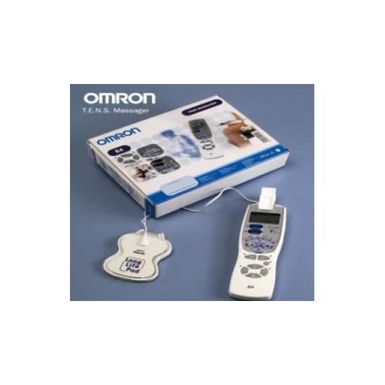 Tens Electrico 6 Programas E4 - TENS Electro-masaje de 1 canal con 6 programas de tratamiento para hombros, rodillas, brazos, pies, piernas, lumbares