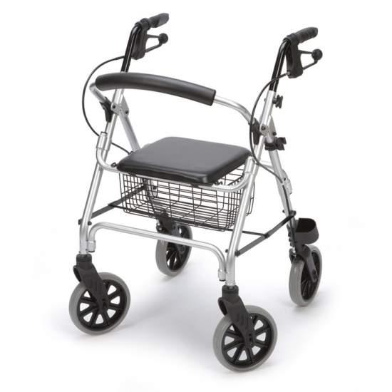Ergo alluminio walker Rolator - Ergo Rolator alluminio walker AD150  Codice 12060003 disposizione