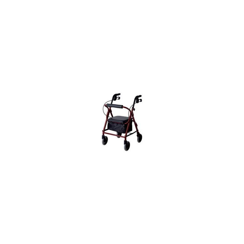 Andador aluminio rolator estrecho LOW - LOW narrow rolator aluminum walker.Provision Code 12060003