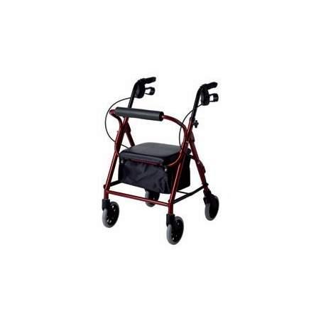 Andador aluminio rolator estrecho LOW