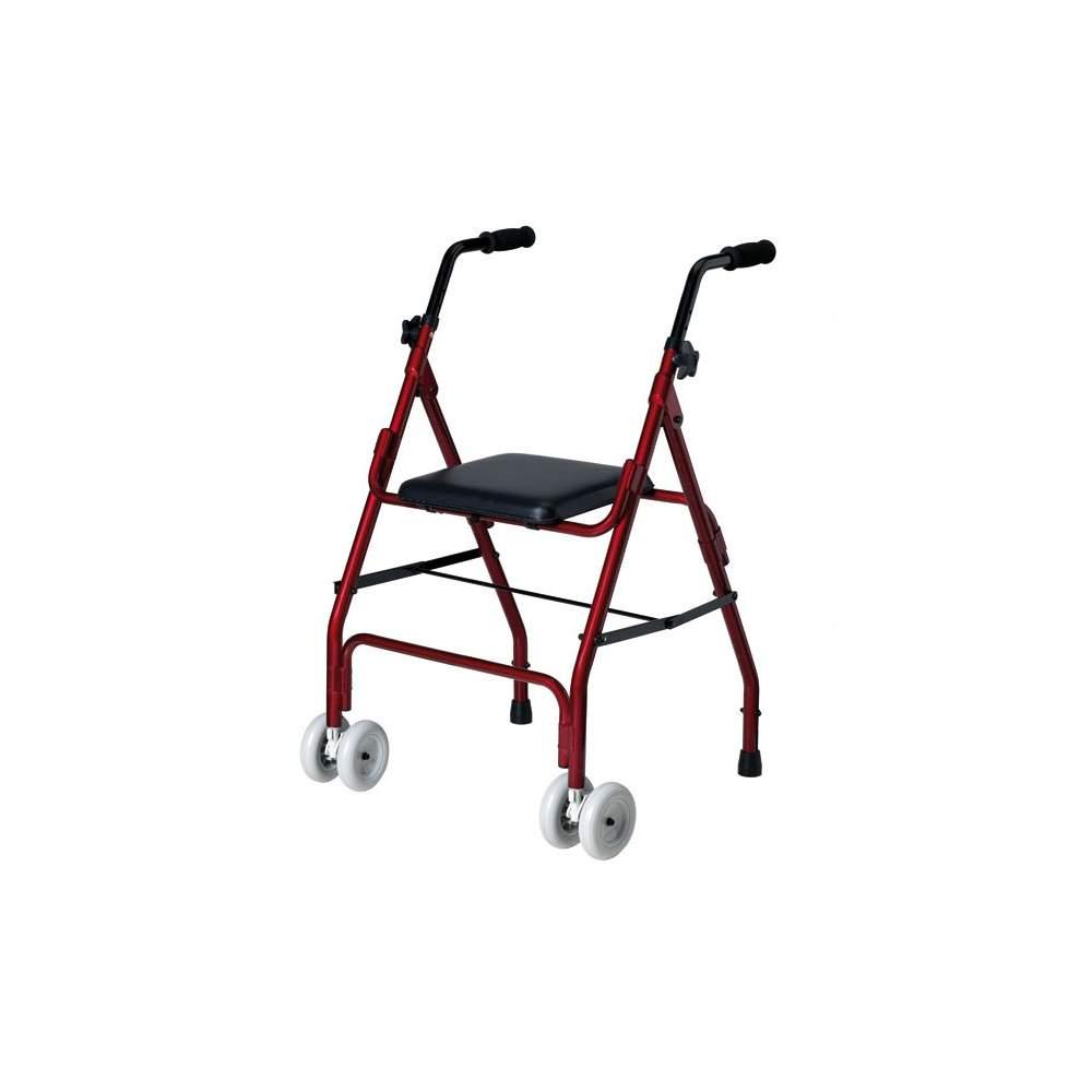 Mini alumínio andador roler - Mini dobrável de alumínio walker roler.  Disposição do Código 12060003