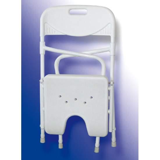 AQUARIUM DE BAIN CHAISE PLIANTE - Verseau chaise de douche pliante