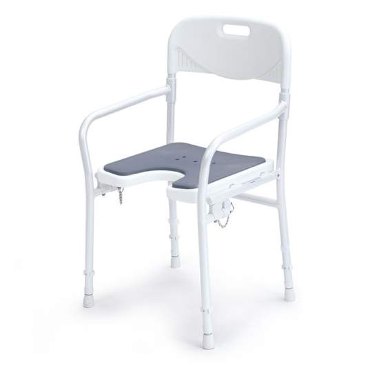 ARIES PADDED FOLDING CHAIR AD520LUX - Padded folding chair AD520LUX