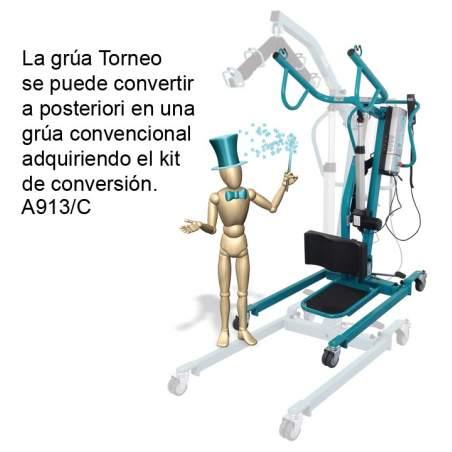 GRUA DE BIPEDESTACION TORNEO AD909