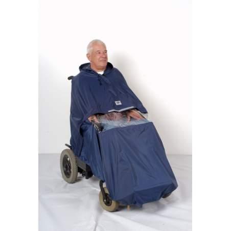 Cadeiras eletrônicas de capa de chuva