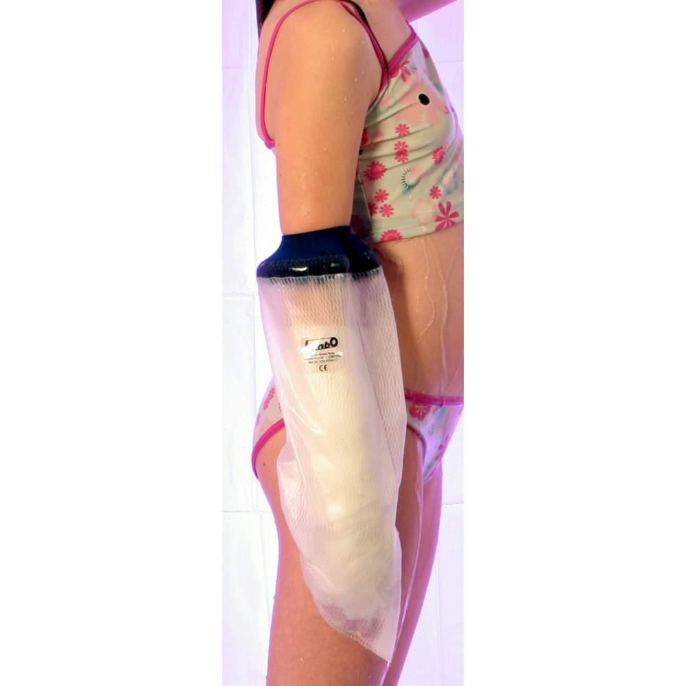 Couvre bras Limbo jette pour les enfants de 4-5 ans, longueur 41 cm.