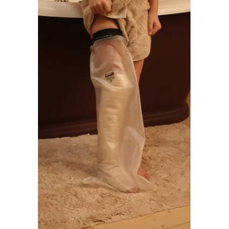 Cubre escayolas LimbO de pierna y muslo para niños de 1-3 años, longitud 50cm.