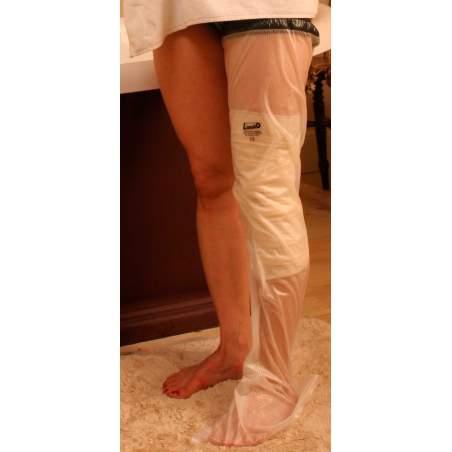 Couvre Limbo jette jambe et la cuisse pour les adultes, longueur 92 cm.