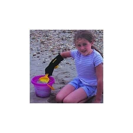 Covers pequena lança boneca Outcast para crianças de 3 - 6 anos
