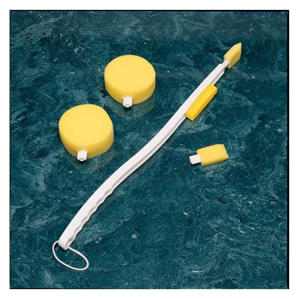Longue poignée et un assortiment d'éponges - Longue poignée et un assortiment d'éponges