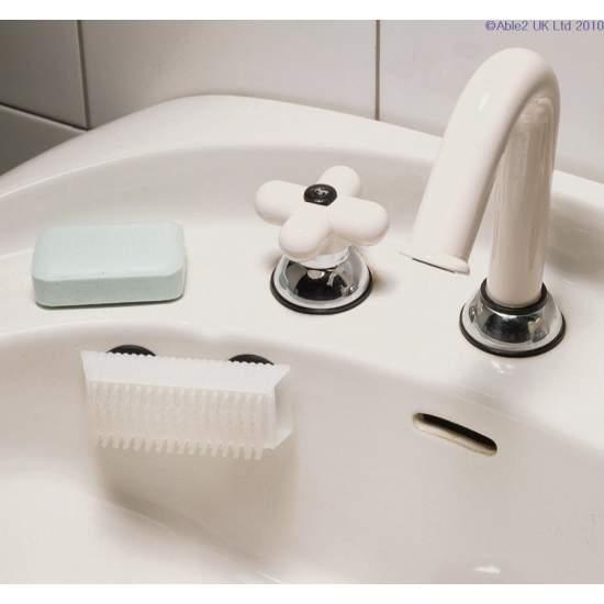 Escova do prego com ventosas