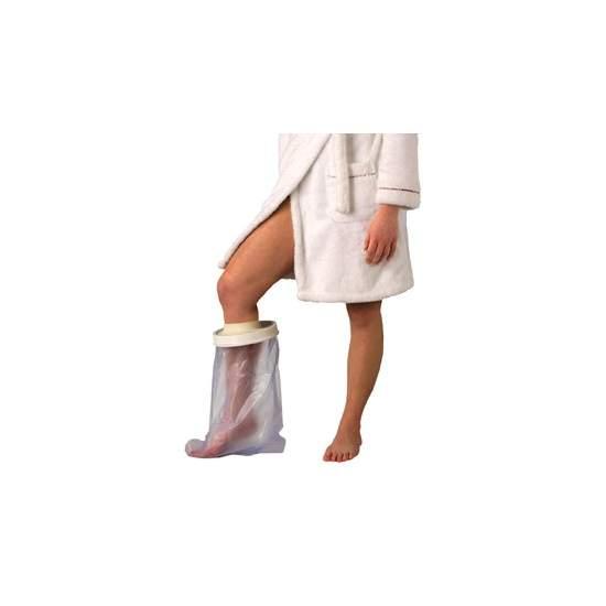 Cubre escayolas sencillos y cómodos de pierna para adultos, longitud 590 mm. - Cubre escayolas sencillos y cómodos de pierna para adultos, longitud 590 mm.