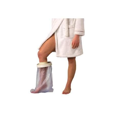 Copre semplice e confortevole gamba getta per adulti, lunghezza 590 millimetri.