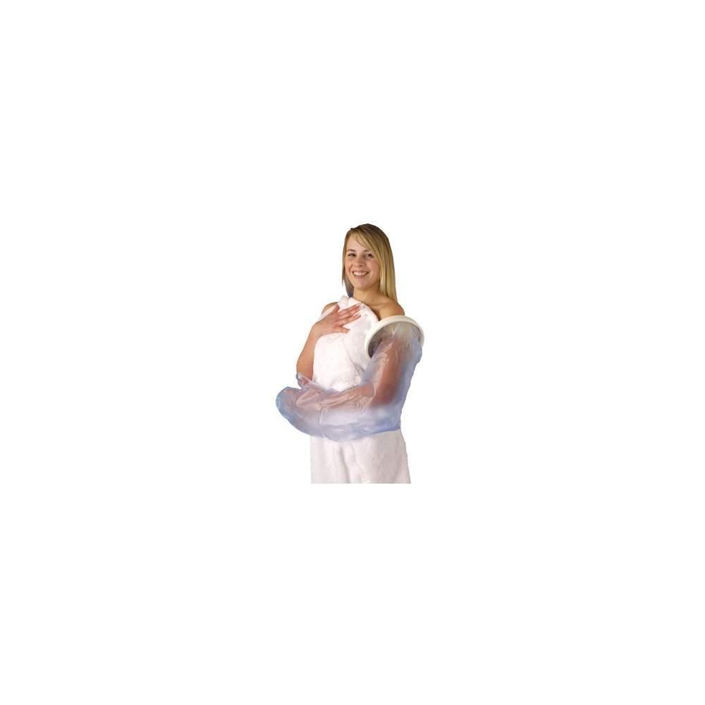 Il couvre simple et confortable jette bras pour les adultes, longueur 990 mm.