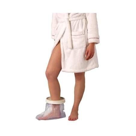 Abrange emplastros pé simples e confortável - adultos tornozelo, comprimento 254 milímetros.